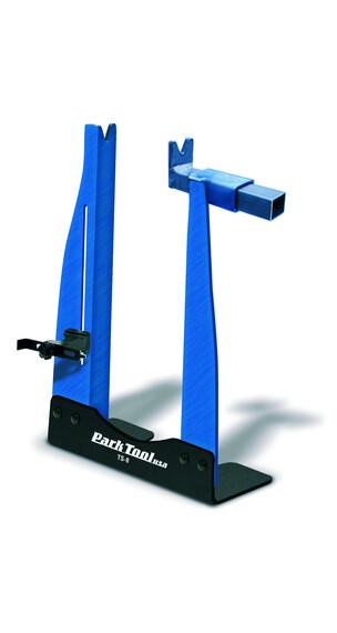 Park Tool TS-8 centrador de ruedas - Soporte de montaje - azul
